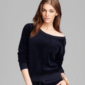 Juicy Couture Off the Shoulder Sweatshirt
